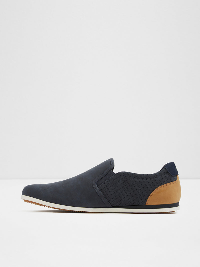 Aldo Navy Slip-on Trainers