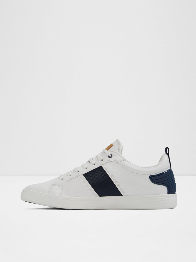 Aldo White Lace-up Trainers