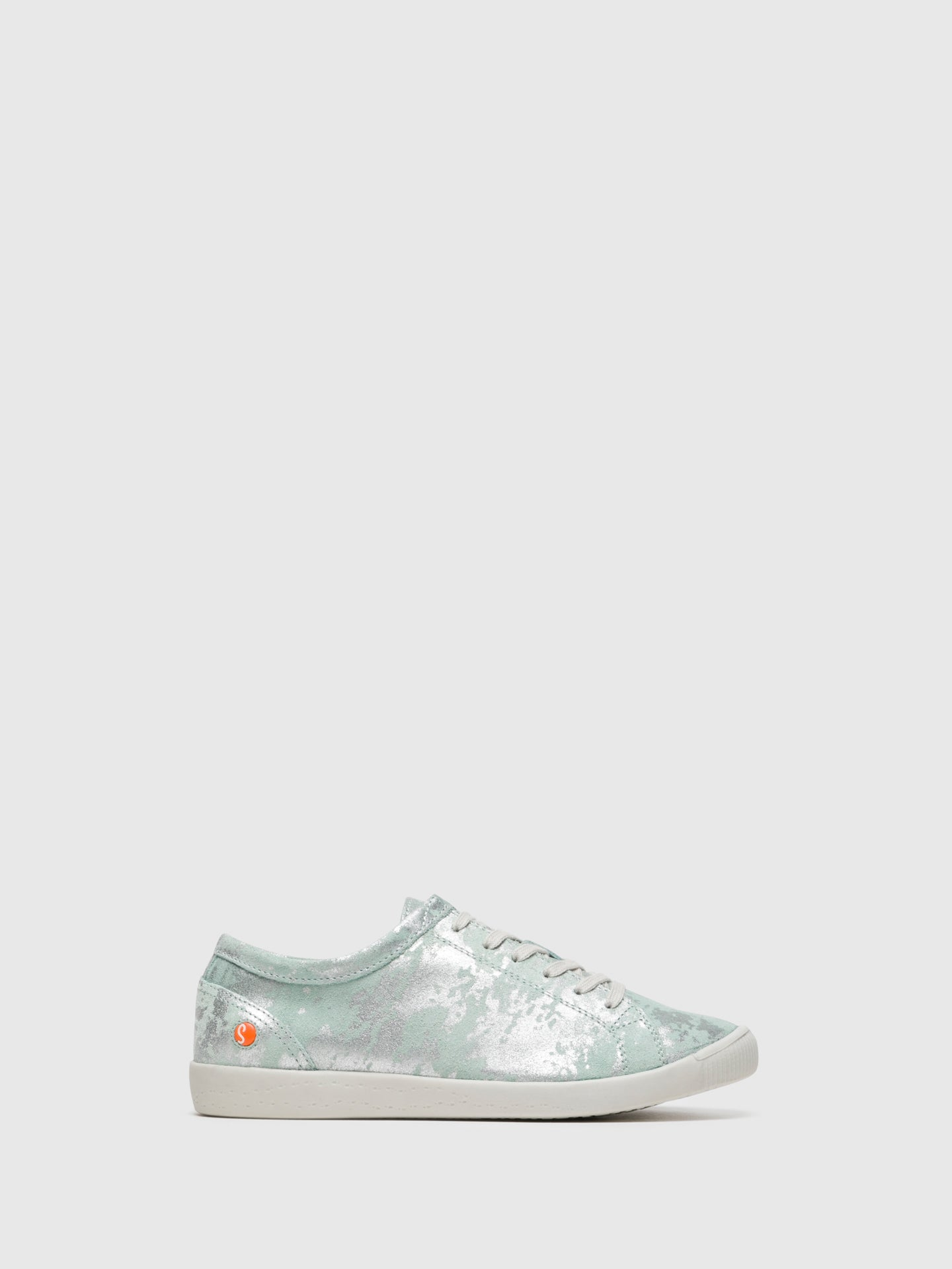 SOFTINOS LightGreen Lace-up Trainers