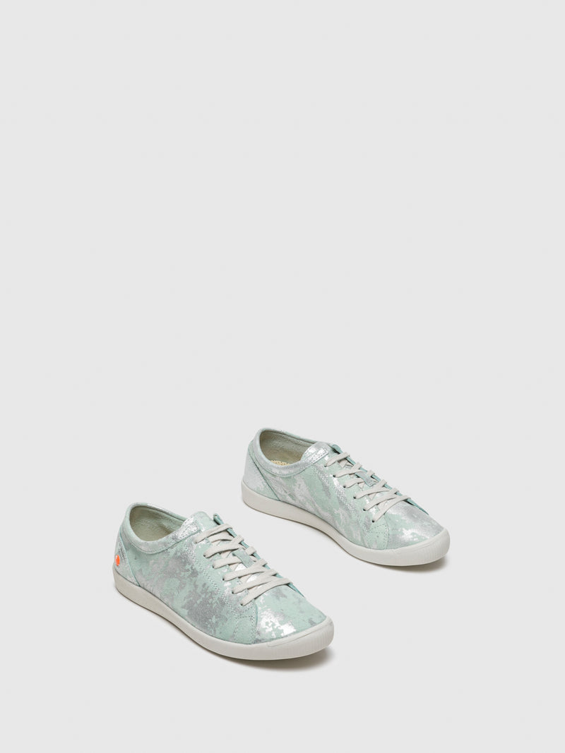 LightGreen Lace-up Trainers