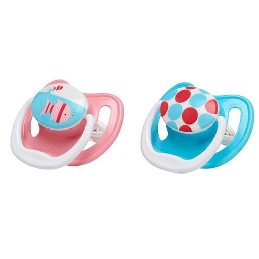 Dr. Brown's Prevent Unique Pacifier 2pk Assorted Color