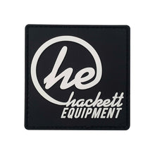 Black ''HE'' Logo Patch