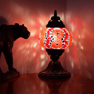 red light lamp | mosaic | interior decor