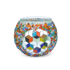 beautiful Turkish mosaic candle holder