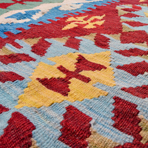 hand-woven rug | vintage goods |double diamante pattern