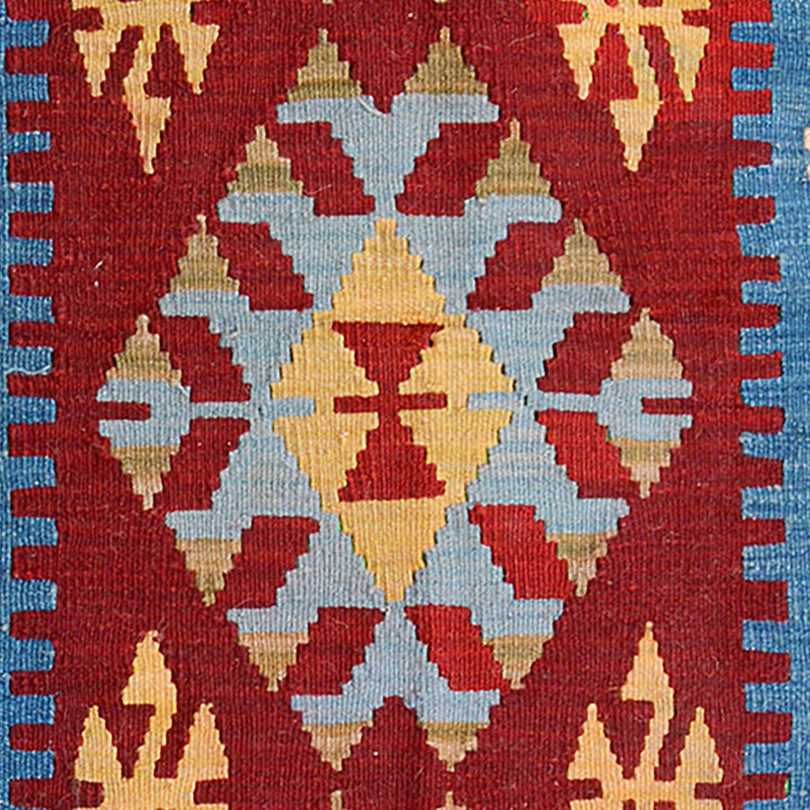 traditional Anatolian kilim | natural wool rug