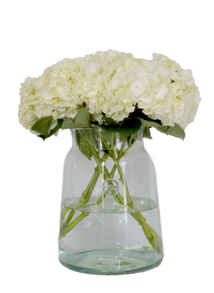 French Mason Jar Vase, Medium