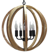 Timber Pendant 5 Light