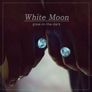 White Moon Ring