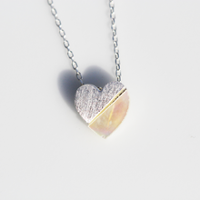 Load image into Gallery viewer, Opal Heart Necklace