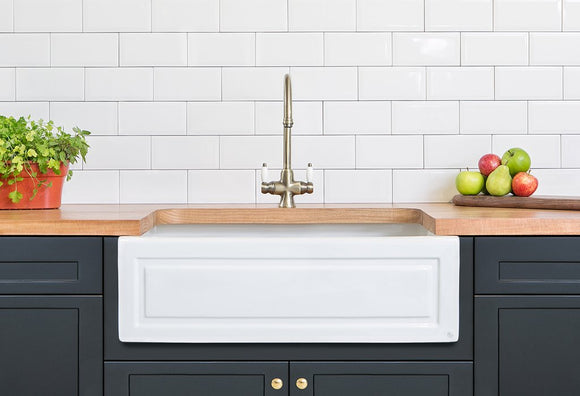 Shaker British Butler Sink 755 - With Free Tap