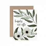Happily Ever After Wedding Greeting Card