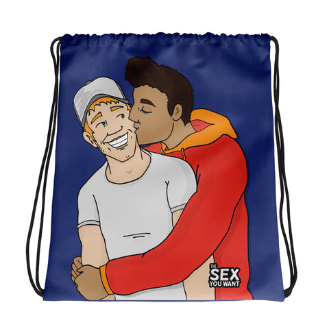"""Cheeky Kiss"" Carry-All (English Logo)"