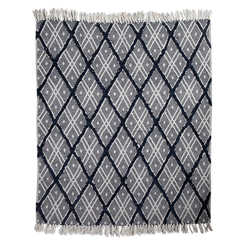 Boho Hand Woven Cotton Throw
