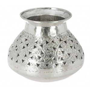 Kashmiri Collection- Aluminium cutout vase