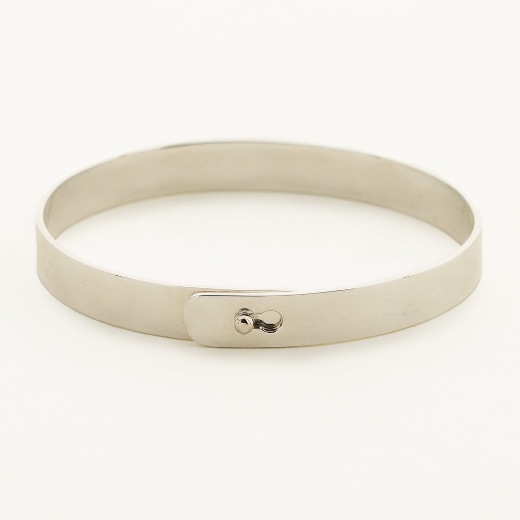 CLICK BRACELET - silver with ball lock