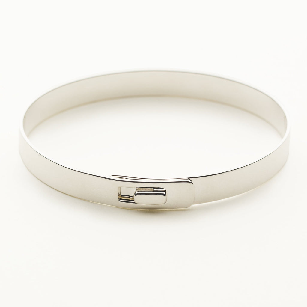 CLICK BRACELET - silver with square lock