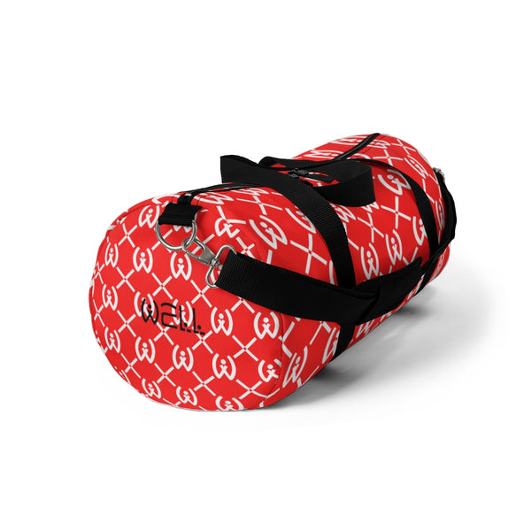 Red Duffle Bag - Well World Official