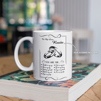 Personalized Mug For Husband/Wife - You Are The Beat Of My Heart