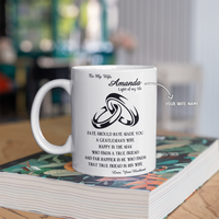 Personalized Mug For Wife - Fate Should Have Made You A Gentleman's Wife