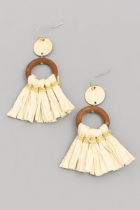 Maui Cream Earrings