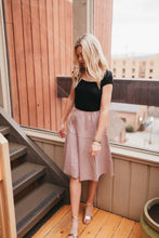 Load image into Gallery viewer, Marseille Blush Skirt