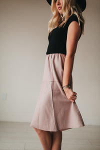 Marseille Blush Skirt