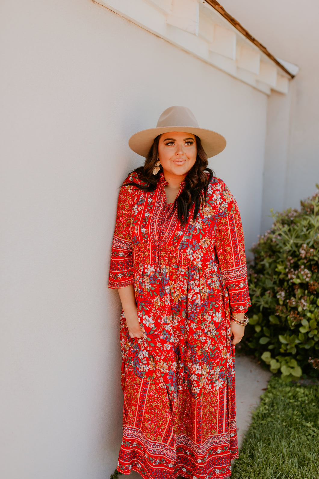 Adana Patterned Maxi Dress