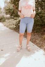 Load image into Gallery viewer, Draper Light Denim Bermuda Shorts