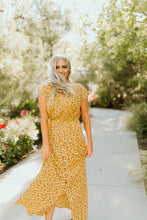 Load image into Gallery viewer, Isle of the Palms Yellow Maxi Dress