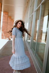 Lake Como Laced Maxi Dress