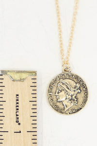 Prati Layered Coin Necklace