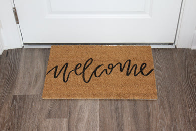 Village Co x Lottie Lane: Hand Painted Welcome Mat