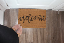 Load image into Gallery viewer, Village Co x Lottie Lane: Hand Painted Welcome Mat