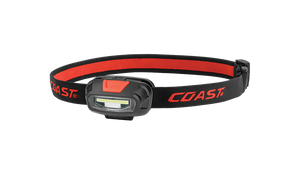 COAST FL13 250 Lumen Dual Color LED C.O.B. Headlamp, front photo