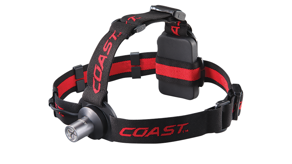 COAST HL3 100 Lumen LED Headlamp, front photo
