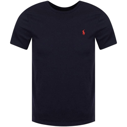 POLO RALPH LAUREN Classic Red logo T-shirt  Black cotton  - Raw Apparel uk - l - Ralph Lauren Mens Clothing and apparel - New 2018 Fashion Trends and Styles,  Free Shipping, #uk, Mens clothing & apparel, T Shirts , Summer sale, #Streetfashion
