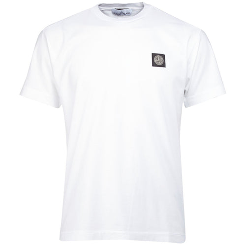 Stone Island - Mens Short Sleeve Crewneck T Shirt - Raw Apparel uk - l - Stone Island Mens Clothing and apparel - New 2018 Fashion Trends and Styles,  Free Shipping, #uk, Mens clothing & apparel, T Shirts , Summer sale, #Streetfashion