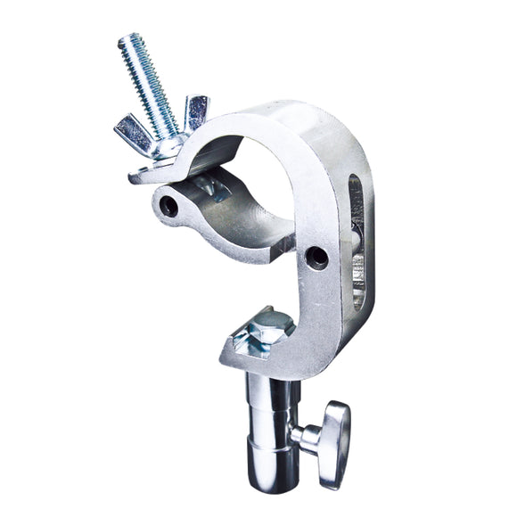 Handcuff Clamp with Stud - Silver