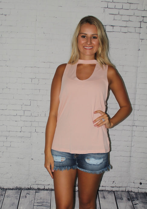 Choker Peach Top