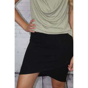 Overlapping Skirt
