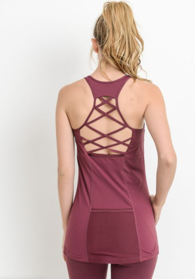 Lattice Back Tank