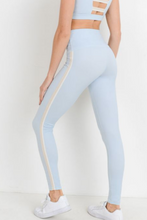 Load image into Gallery viewer, Summer Side Stripe Legging