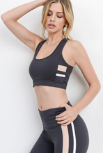 Load image into Gallery viewer, Fast Pace Stripe Bra - PRE ORDER