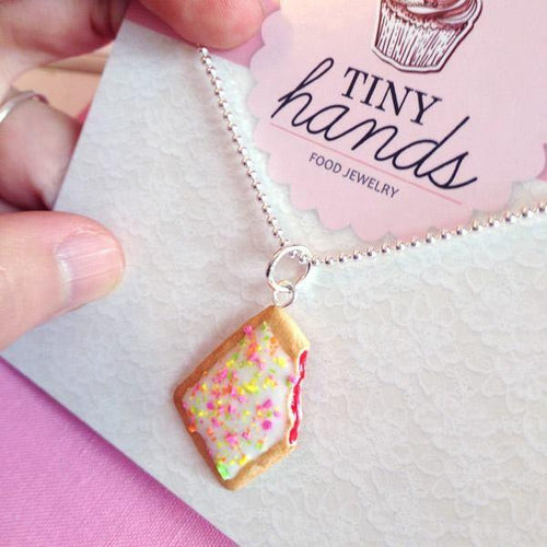 Scented or Unscented Toaster Pastry Necklace