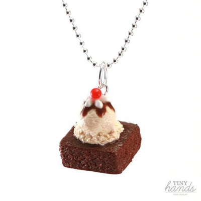 Scented or Unscented Brownie Sundae Necklace