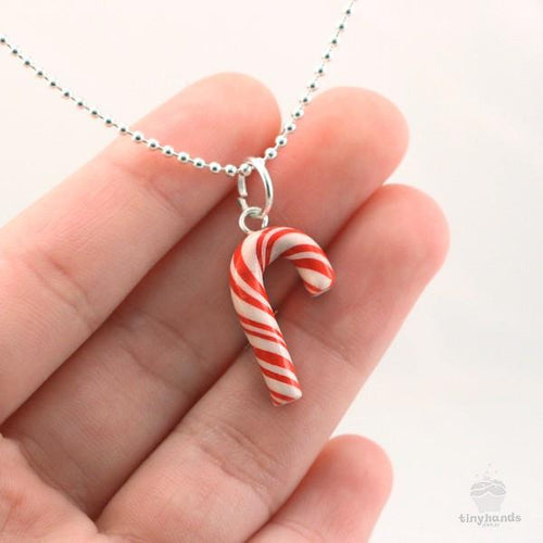 Scented Candy Cane Necklace