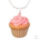 Scented or Unscented Birthday Cupcake Necklace