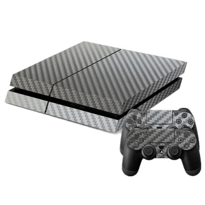Classic Carbon Fibre PS4 Skin Decal - Pro Game Stop