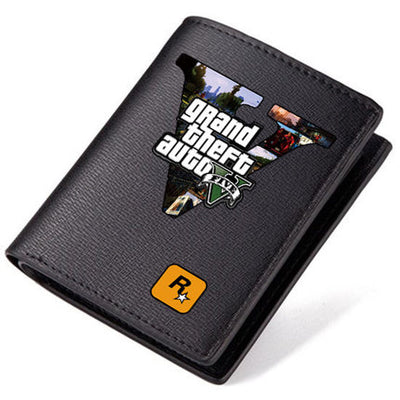 GTA V Bi-Fold Leather Wallet - Pro Game Stop